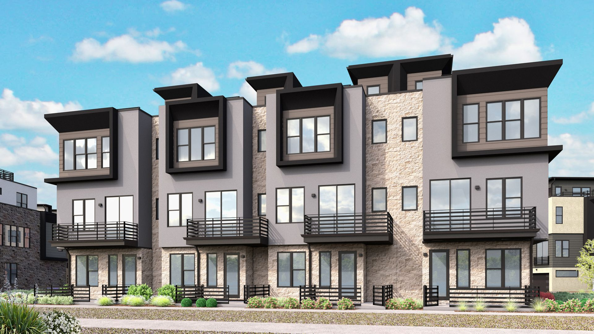 Exterior featured in the A Plan By Koelbel Urban Homes in Boulder-Longmont, CO