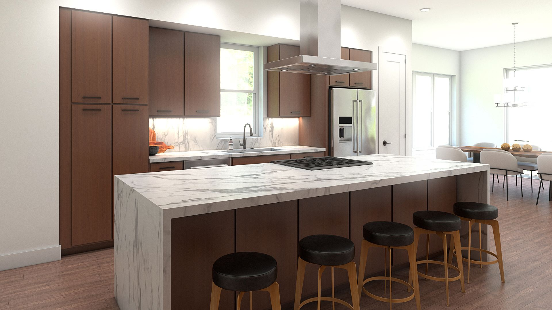 Kitchen featured in the B Plan By Koelbel Urban Homes in Boulder-Longmont, CO