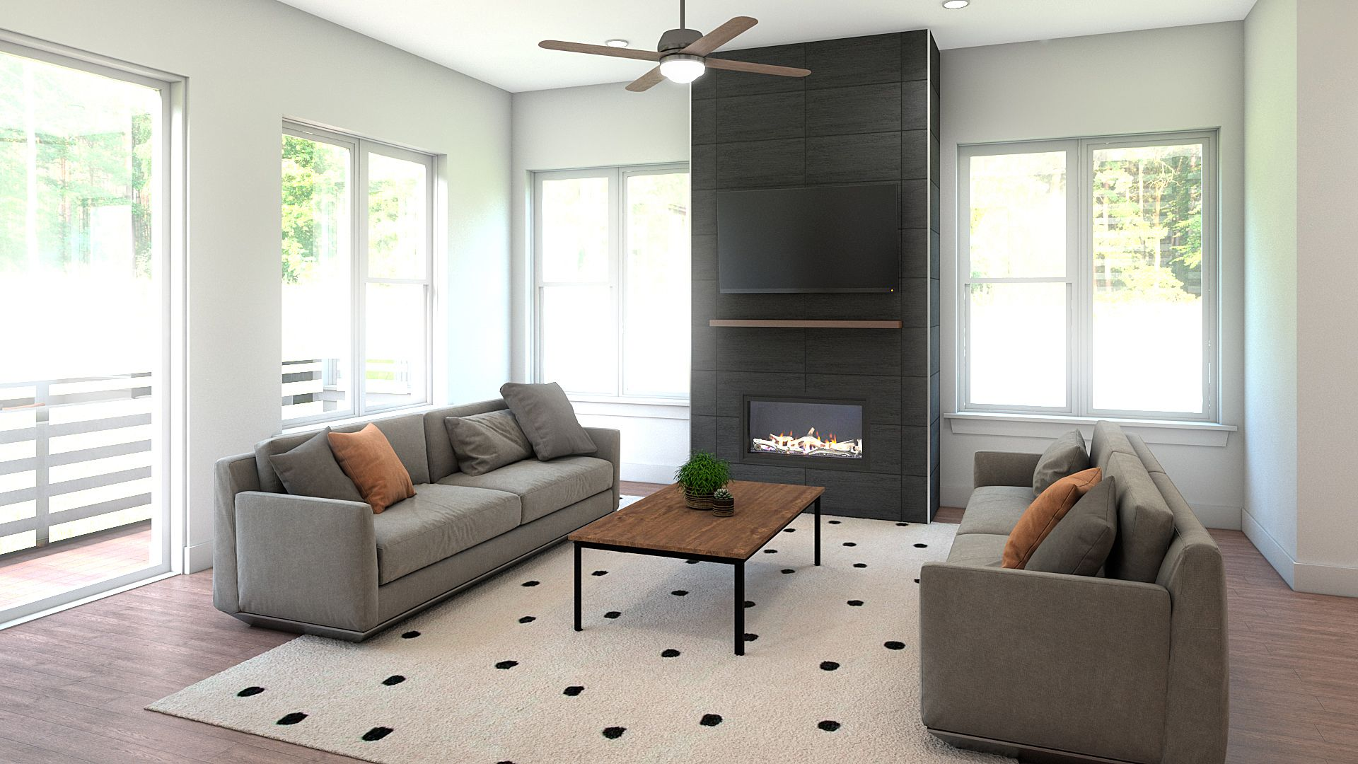 Living Area featured in the B Plan By Koelbel Urban Homes in Boulder-Longmont, CO