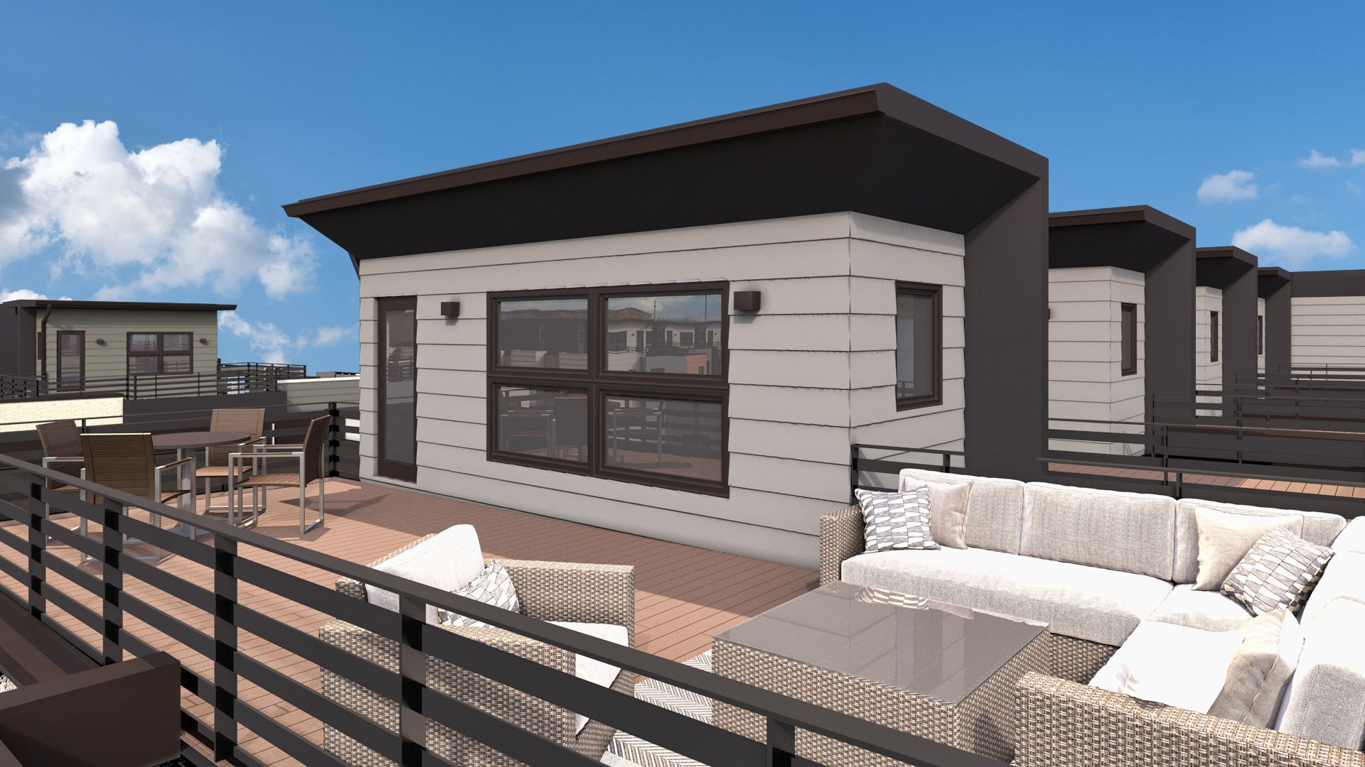 Exterior featured in the B Plan By Koelbel Urban Homes in Boulder-Longmont, CO