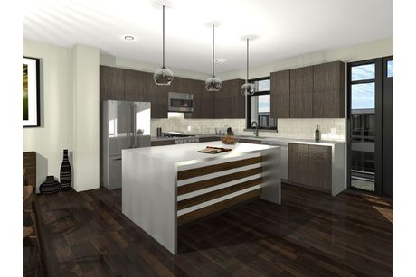 Kitchen-in-Matador Series - Interior Unit-at-CityHomes at Boulevard One-in-Denver