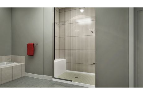 Bathroom-in-Matador Series - Interior Unit-at-CityHomes at Boulevard One-in-Denver