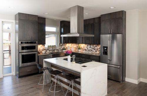 Kitchen-in-Matador Series - Interior Unit-at-CityHomes at Boulevard One-in-Denver