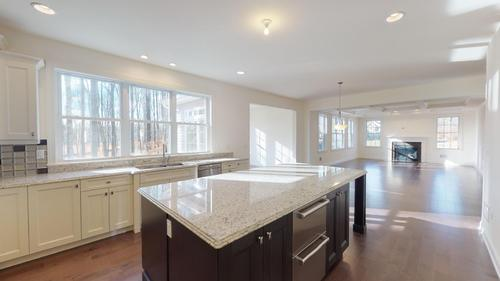 Kitchen-in-Sandalwood-at-Point of Woods-in-Monmouth Junction