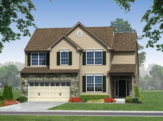 Kenai Single Exterior Rendering