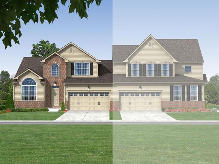 Exterior:Cheswick Twin Exterior Rendering