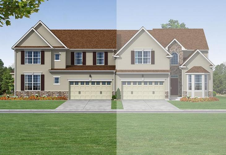 Folcroft Twin Exterior Rendering
