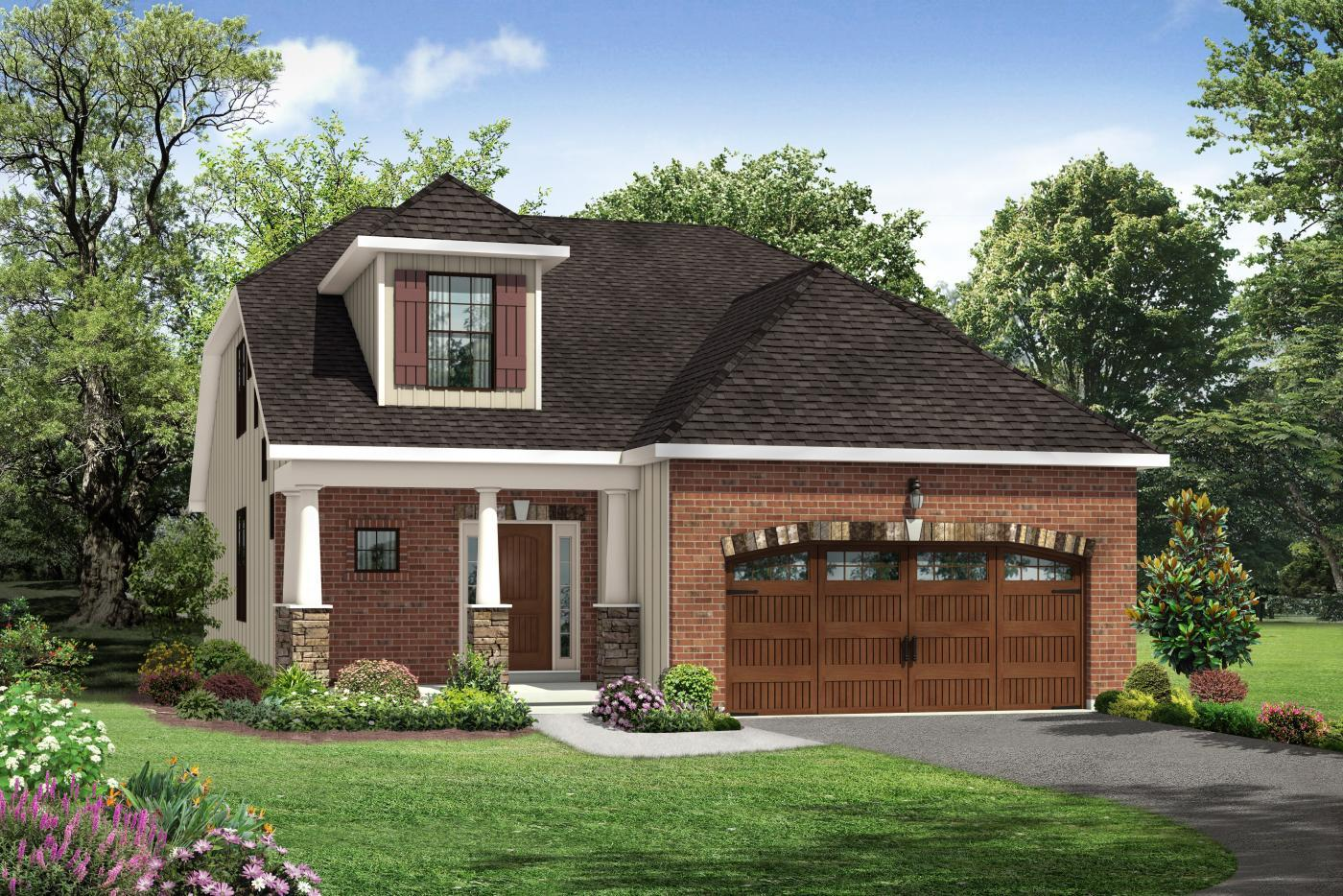 Exterior featured in the Sheridan II By Kay Builders in Allentown-Bethlehem, PA