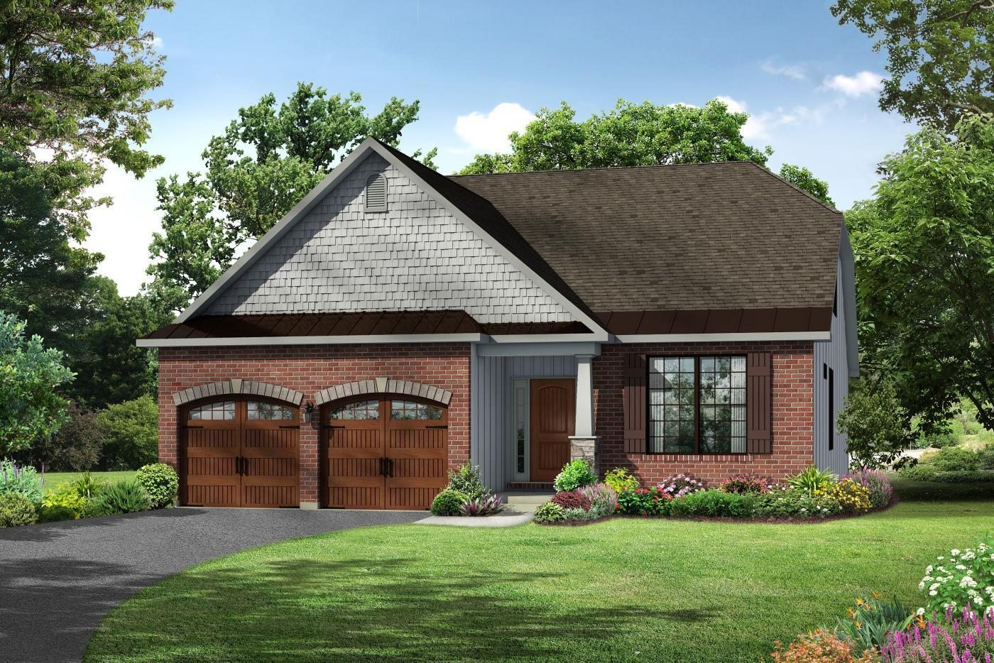 Exterior featured in the Mayfair II By Kay Builders in Allentown-Bethlehem, PA