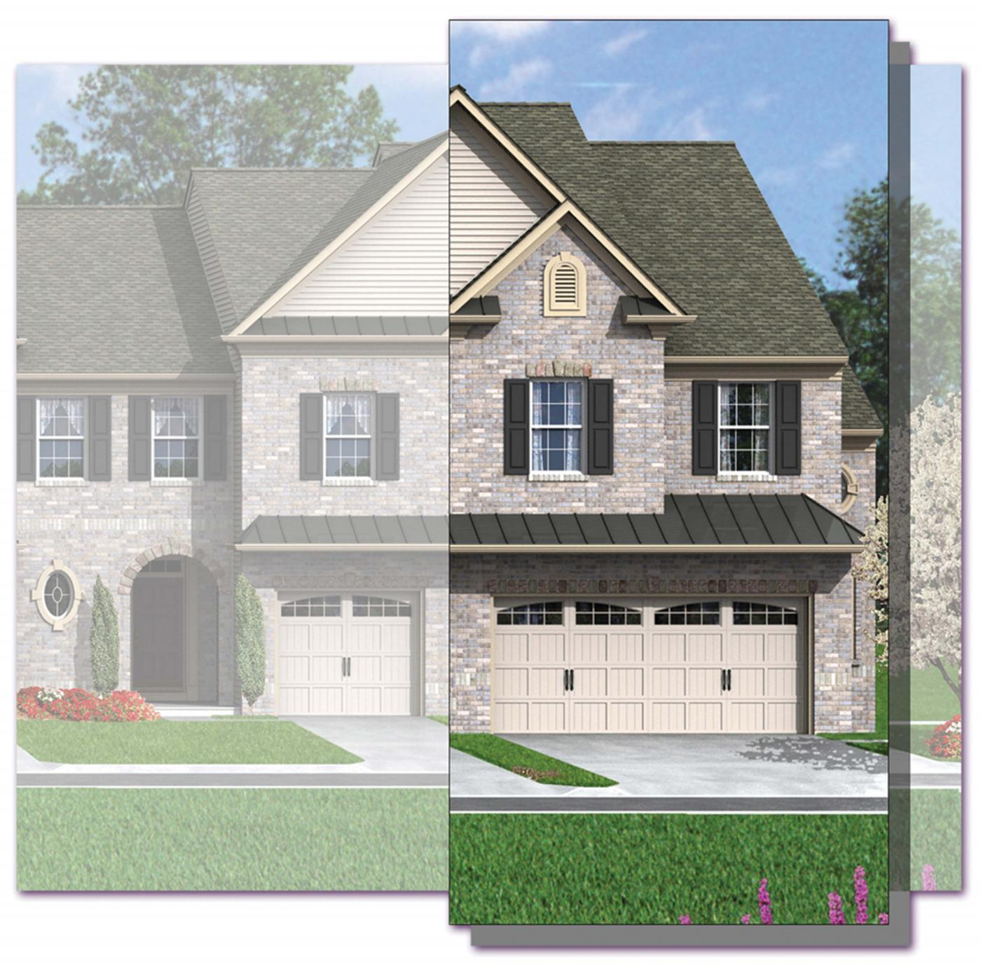 Exterior featured in the Glacier (Townhome) By Kay Builders in Allentown-Bethlehem, PA