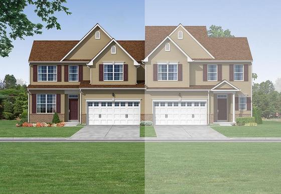 Exterior:Hayden Twin Exterior Rendering