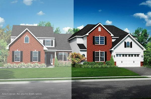 Exterior:Luna Twin Villa Exterior Rendering