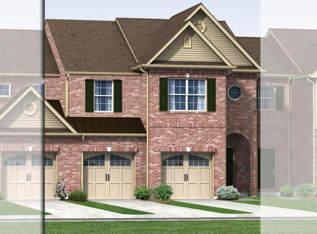 Exterior featured in the Everglade (Townhome) By Kay Builders in Allentown-Bethlehem, PA