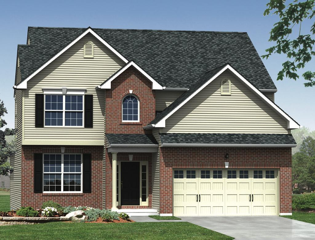 Exterior featured in the Grande - RH By Kay Builders in Allentown-Bethlehem, PA