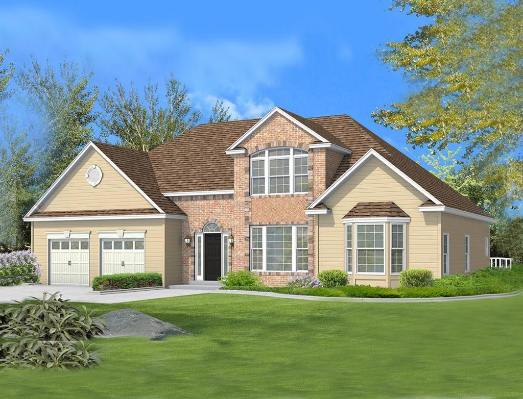 Exterior featured in the Innsbruck I - RH By Kay Builders in Allentown-Bethlehem, PA