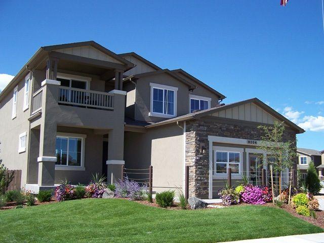 The Jackson - 2 Story Home:Award Winning Jackson 2-story with upper level master balcony! (Photo of model)