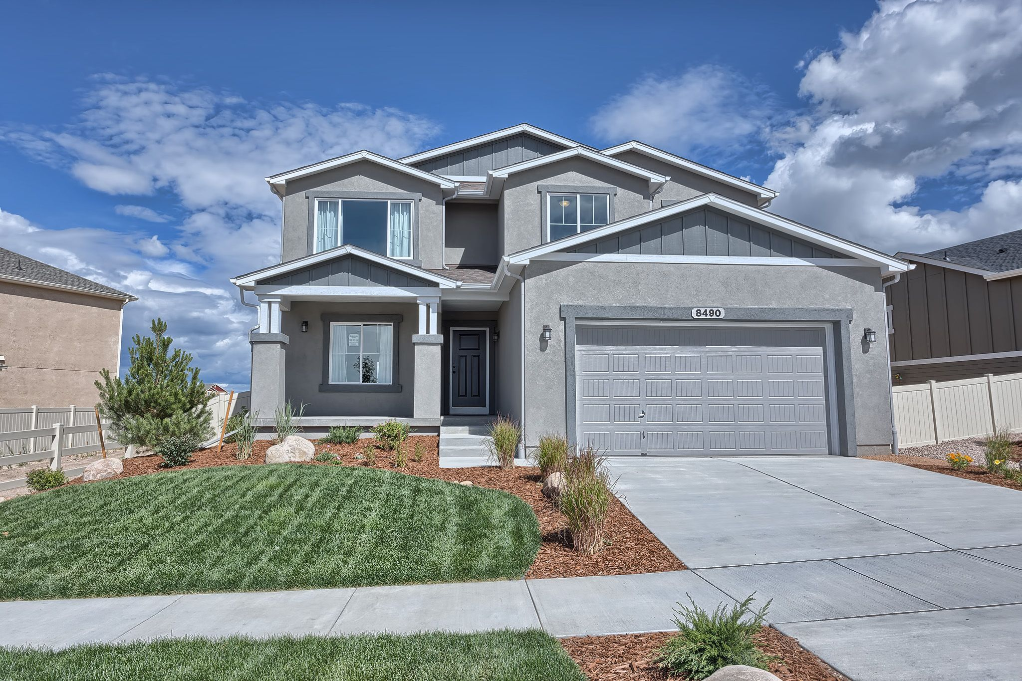 Willow creek new home community in colorado springs colorado for Modern homes colorado springs