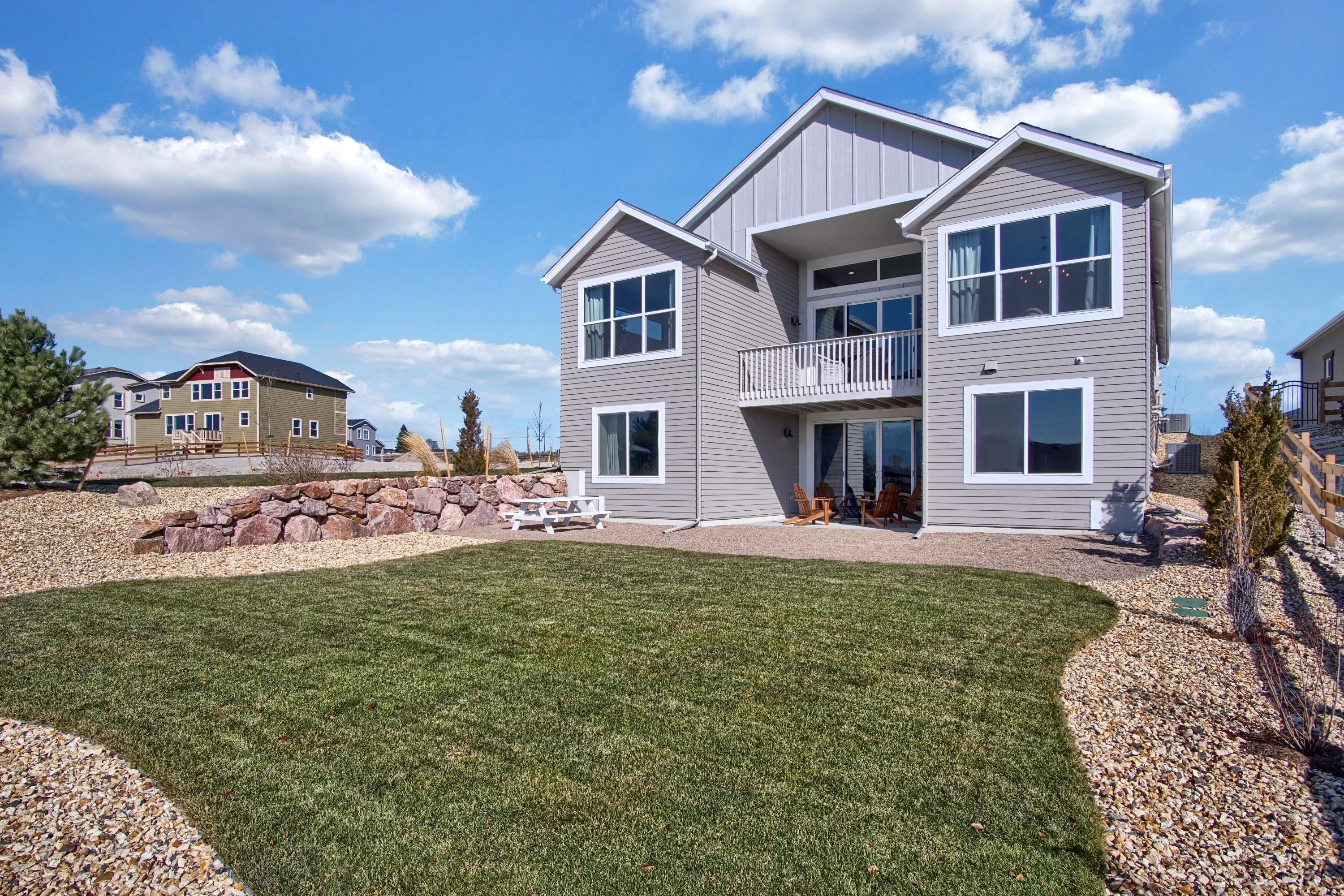 Exterior featured in the Mackintosh By Keller Homes in Colorado Springs, CO