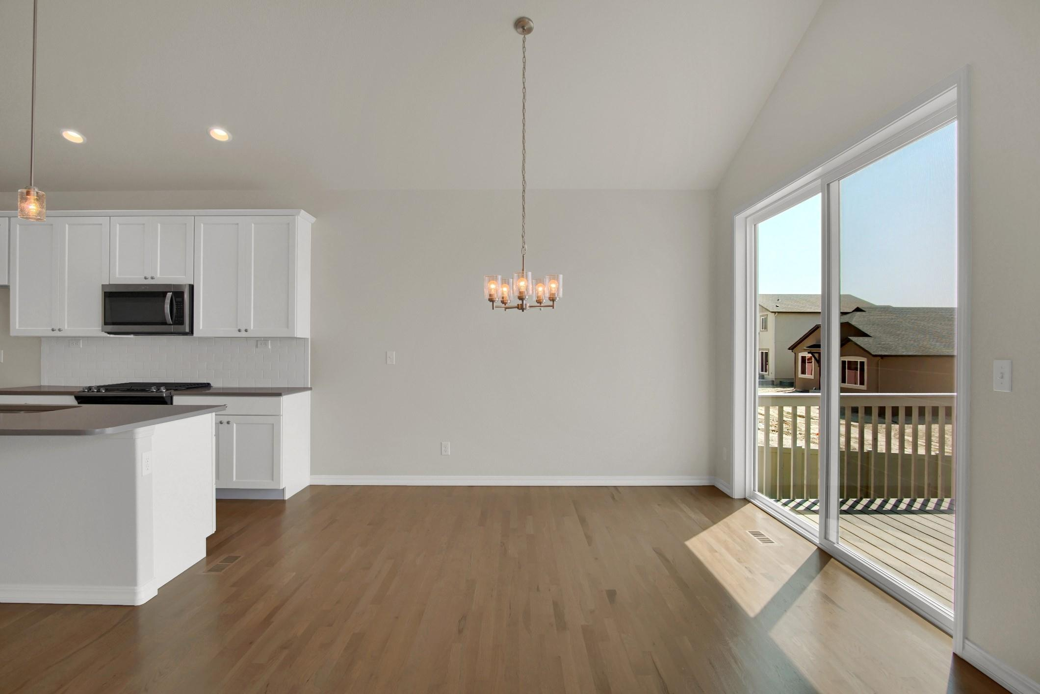 Kitchen featured in the Telluride By Keller Homes in Colorado Springs, CO