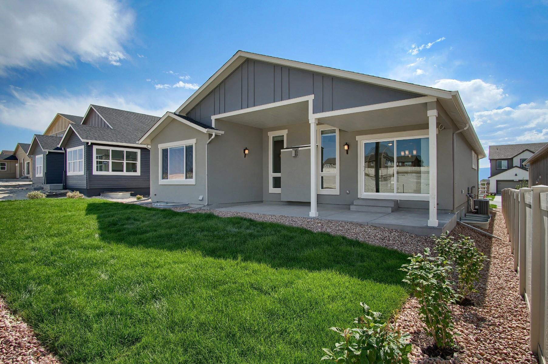 Exterior featured in the Belford By Keller Homes, A Toll Bros. Co. in Colorado Springs, CO