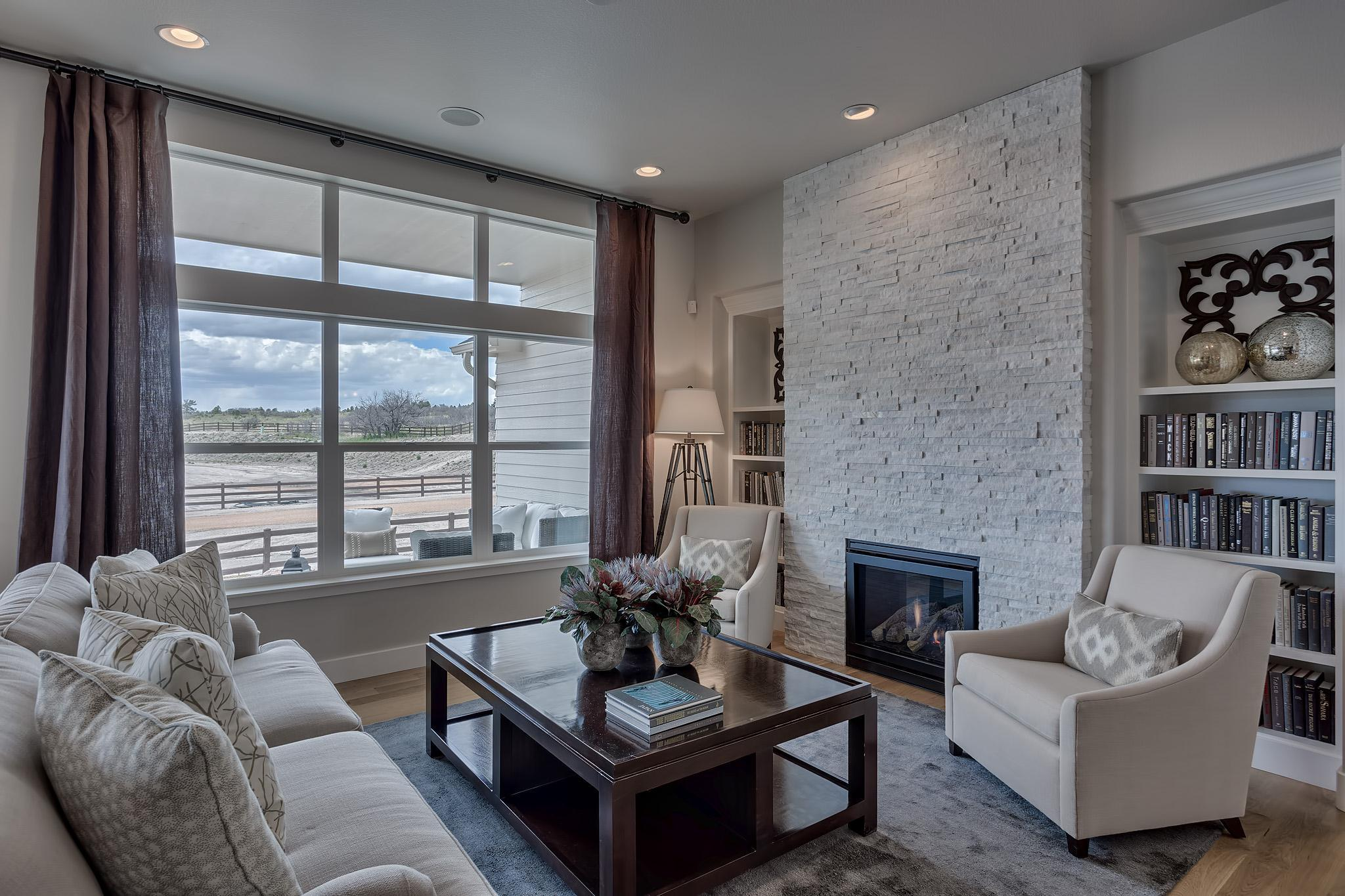 Living Area featured in the Fresco By Keller Homes, A Toll Bros. Co. in Colorado Springs, CO