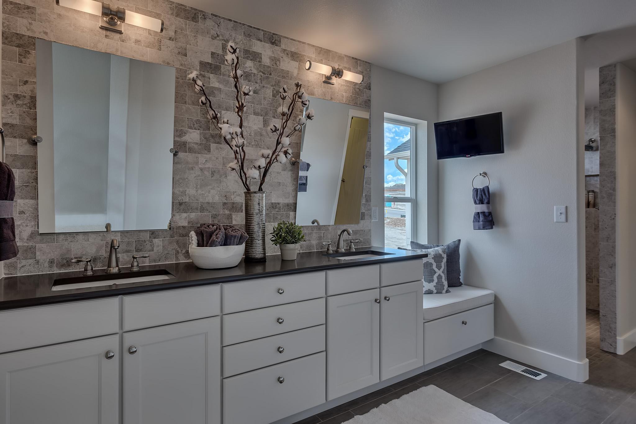 Bathroom featured in the Fresco By Keller Homes, A Toll Bros. Co. in Colorado Springs, CO