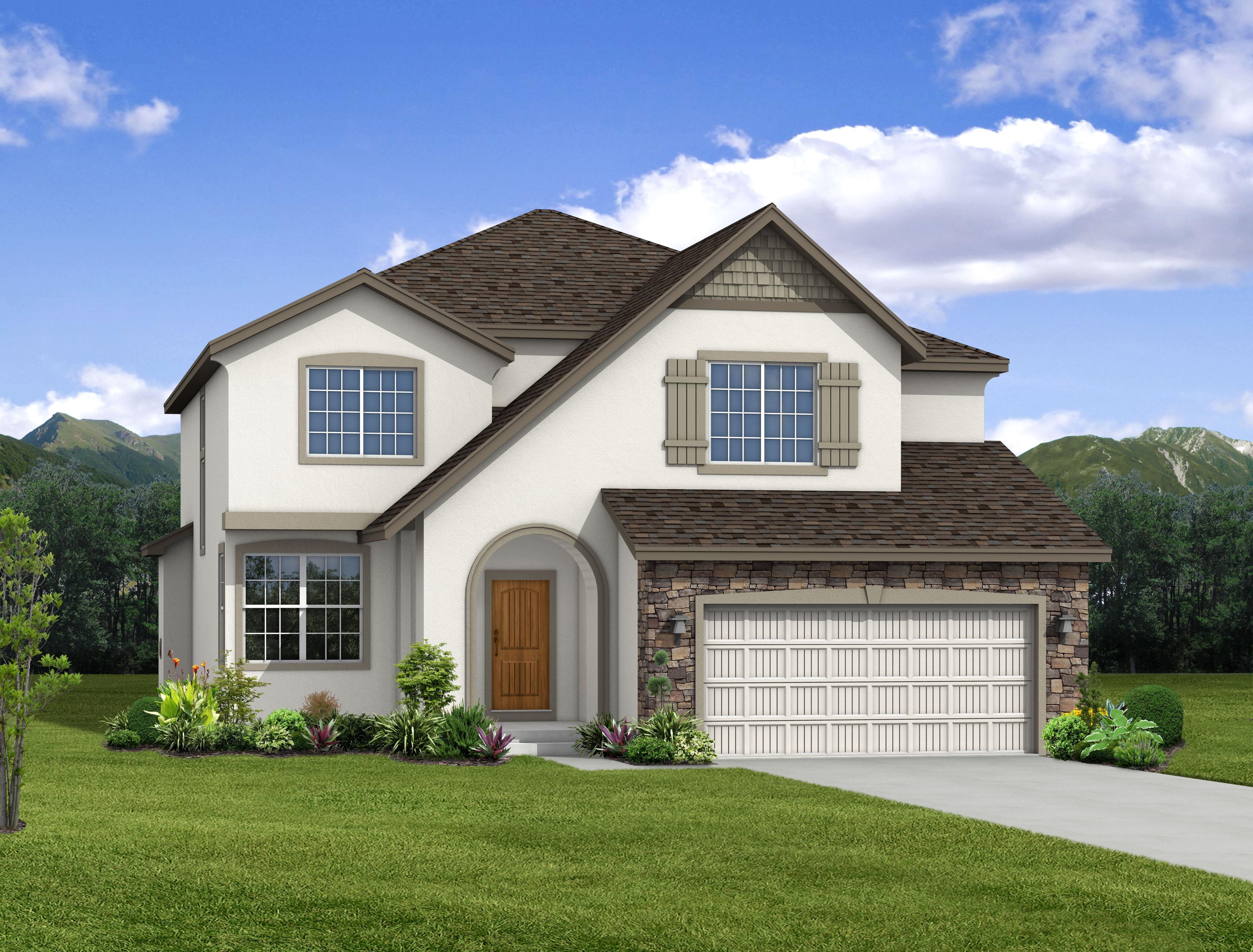 Exterior featured in the Windom By Keller Homes, A Toll Bros. Co. in Colorado Springs, CO