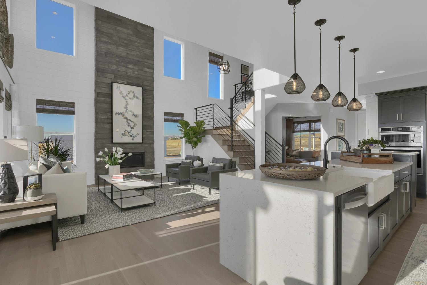 Living Area featured in the Culebra By Keller Homes, A Toll Bros. Co. in Colorado Springs, CO