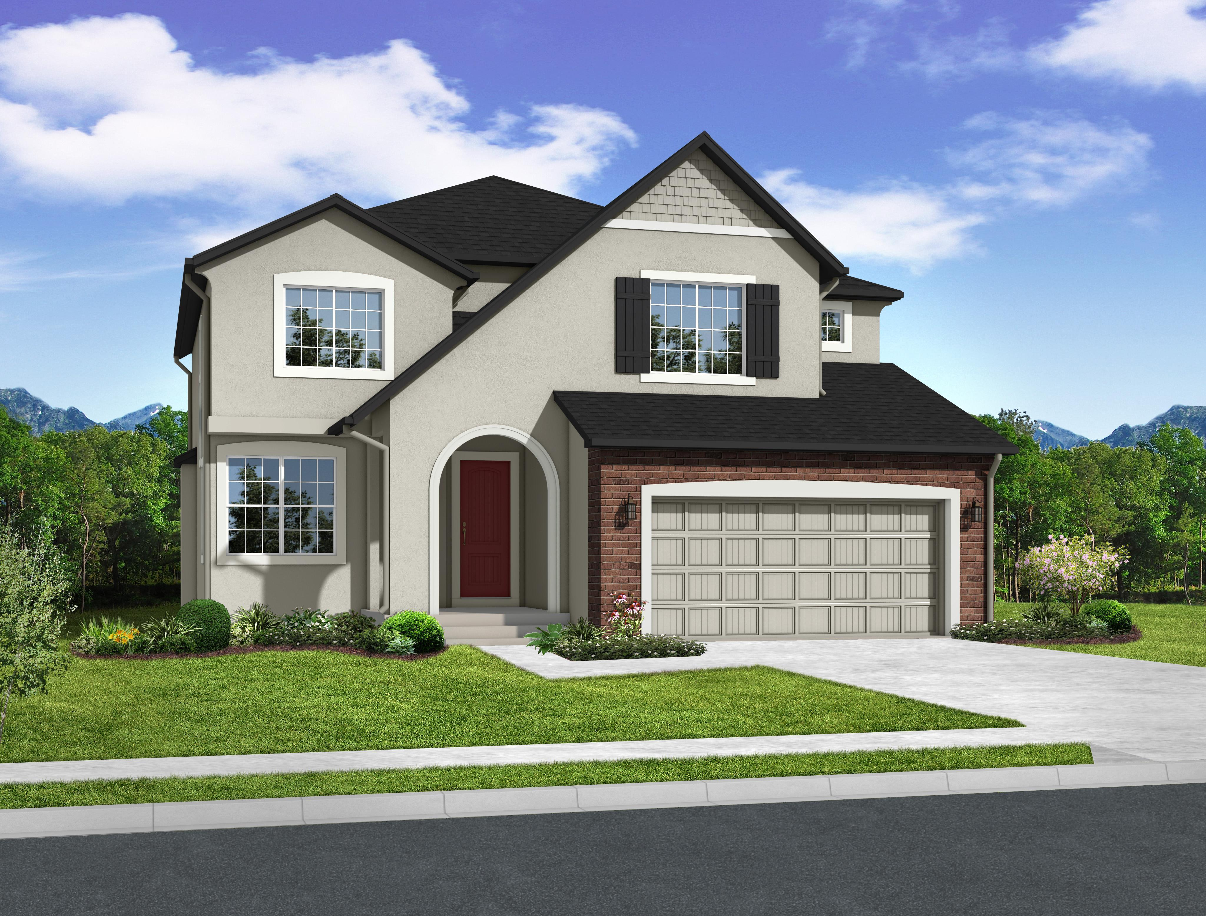 Exterior featured in the Culebra By Keller Homes, A Toll Bros. Co. in Colorado Springs, CO