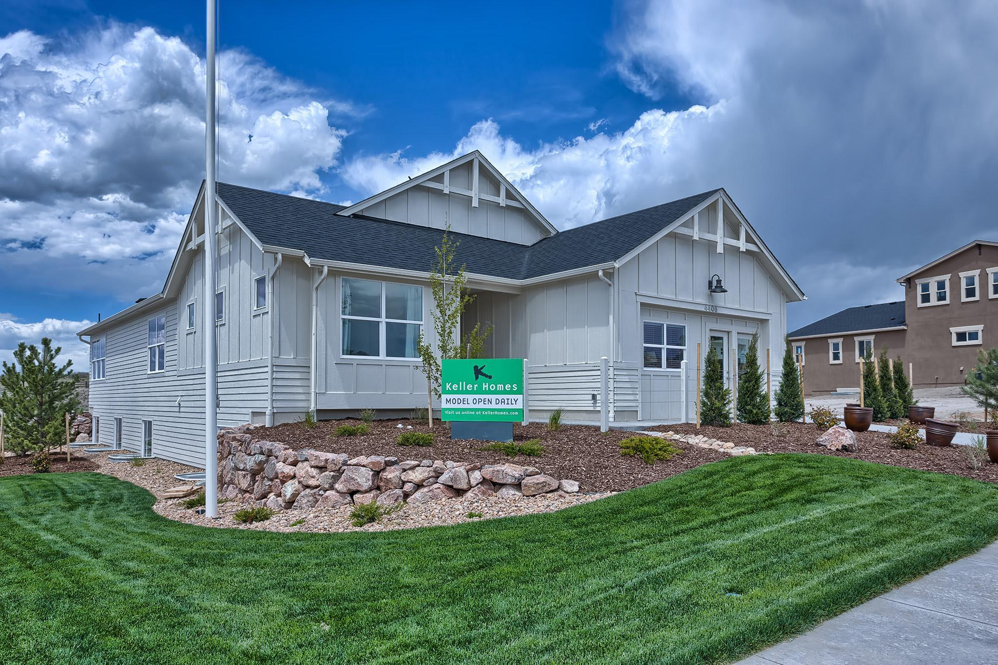 Exterior featured in the Fresco By Keller Homes, A Toll Bros. Co. in Colorado Springs, CO
