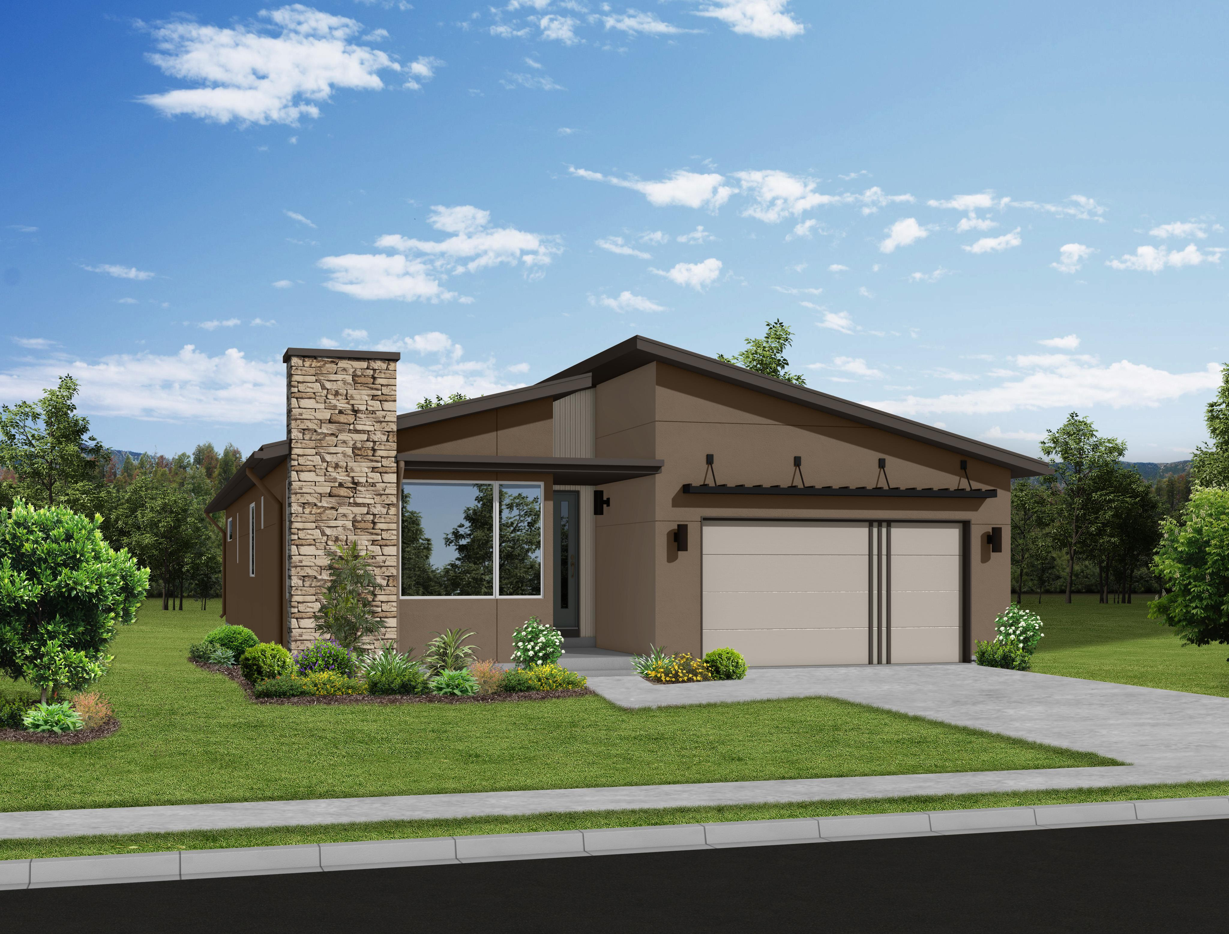 Exterior featured in the Mackintosh By Keller Homes, A Toll Bros. Co. in Colorado Springs, CO