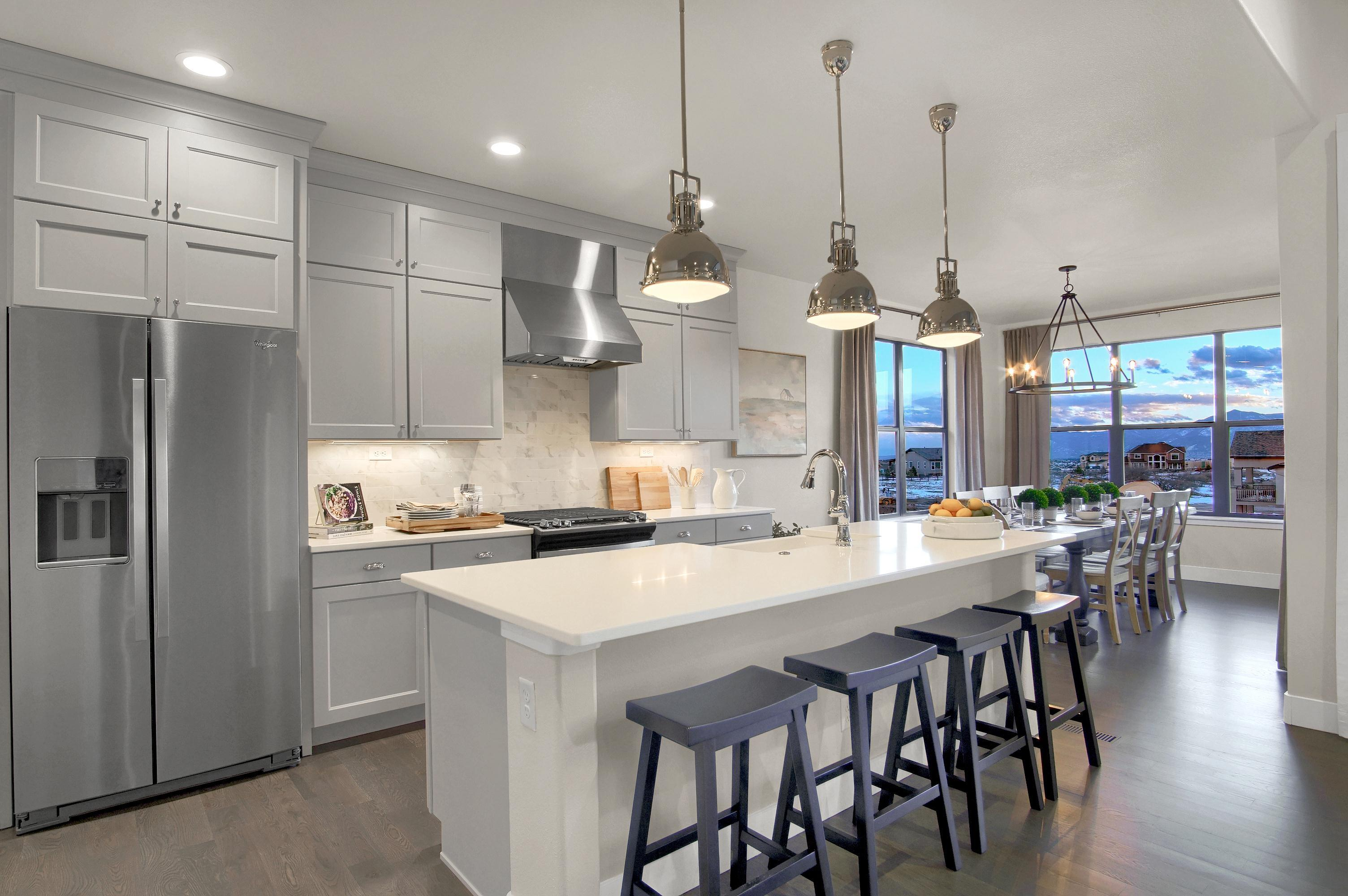 Kitchen featured in the Mackintosh By Keller Homes, A Toll Bros. Co. in Colorado Springs, CO