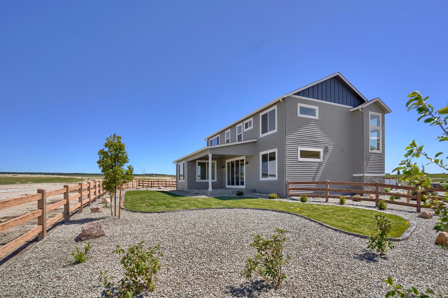 Exterior featured in the Princeton By Keller Homes, A Toll Bros. Co. in Colorado Springs, CO
