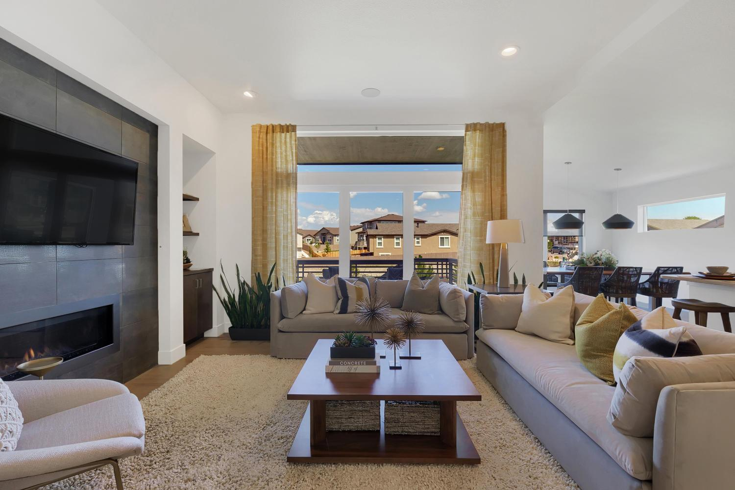 Living Area featured in the Baker By Keller Homes, A Toll Bros. Co. in Colorado Springs, CO