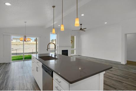 Kitchen-in-Belford-at-Wolf Ranch-in-Colorado Springs
