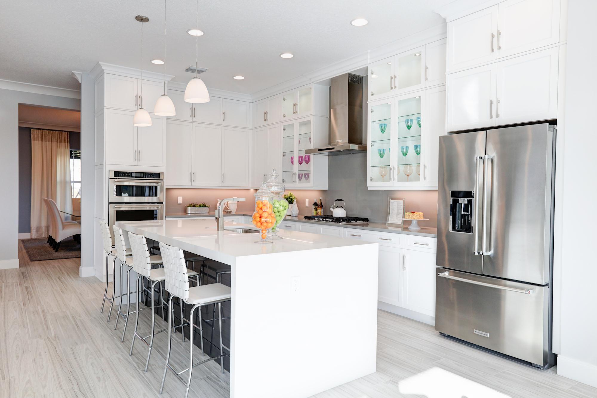 Kitchen featured in the Banyan By Kenco Communities in Palm Beach County, FL