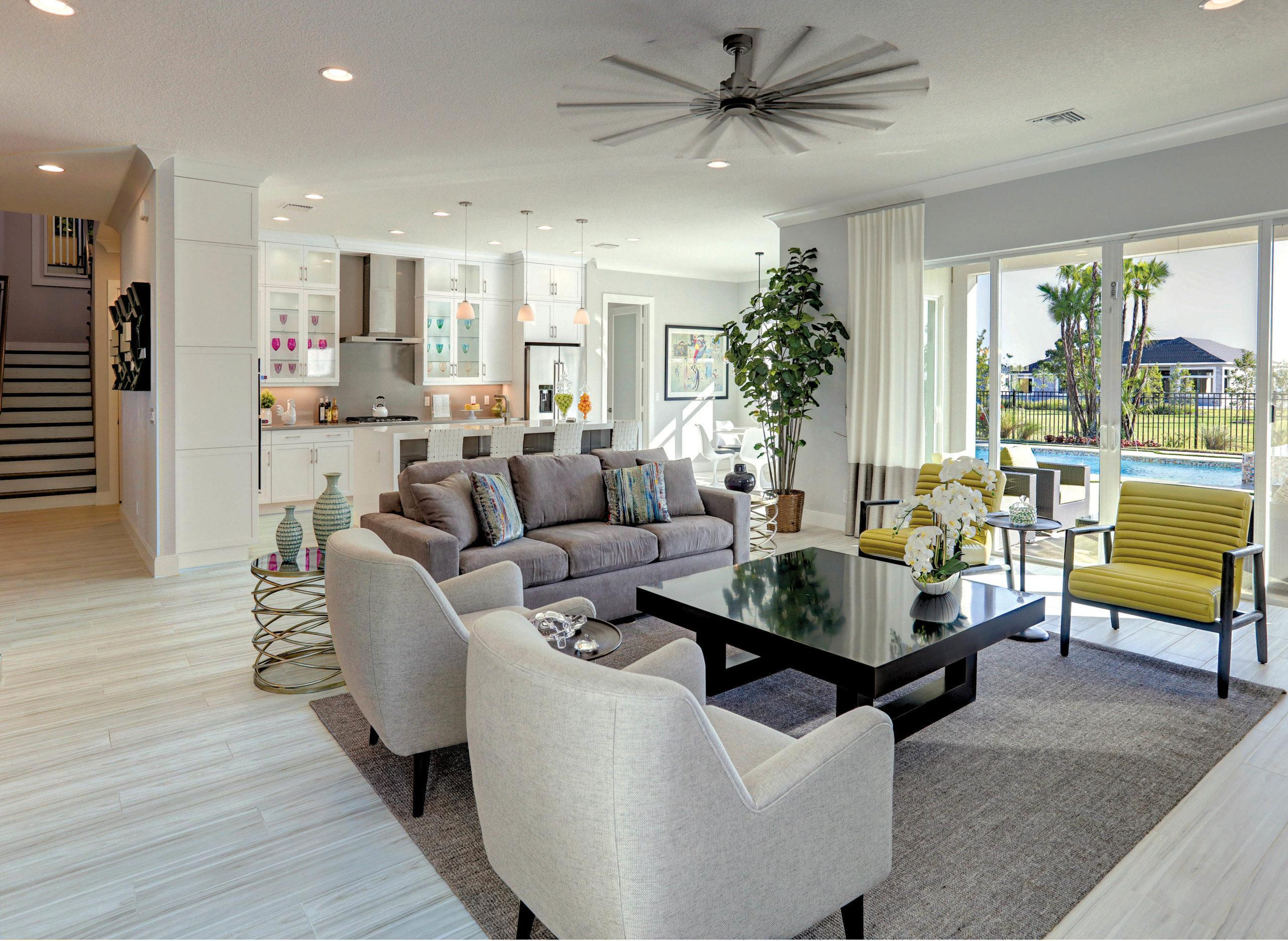 Living Area featured in the Banyan By Kenco Communities in Palm Beach County, FL