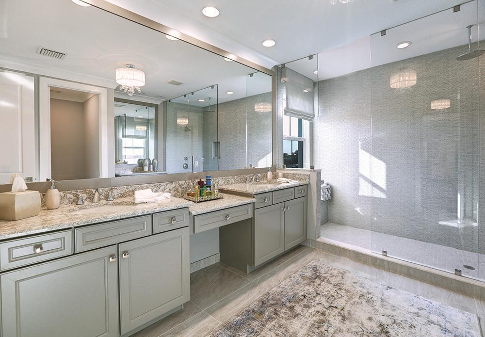 Bathroom featured in the Banyan By Kenco Communities in Palm Beach County, FL
