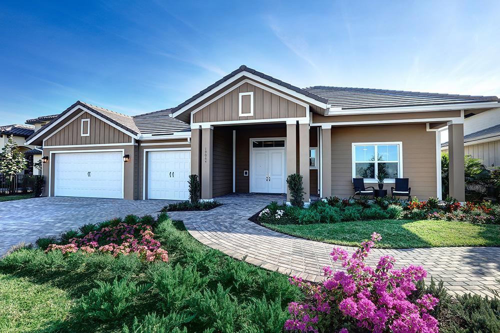 Exterior featured in the Carlton By Kenco Communities at Arden in Palm Beach County, FL