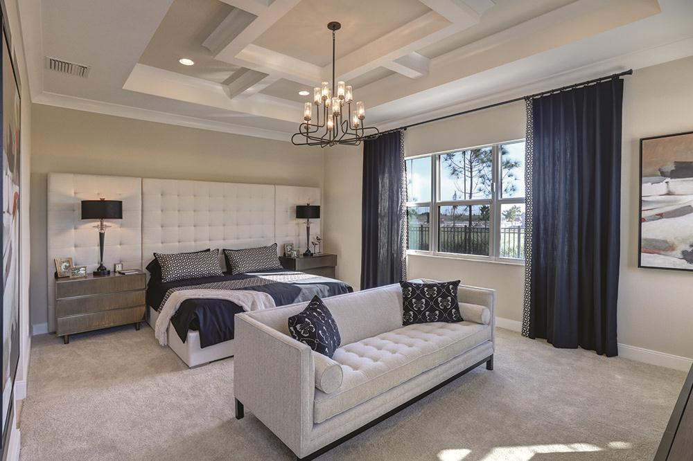 Bedroom featured in the Carlton By Kenco Communities in Palm Beach County, FL
