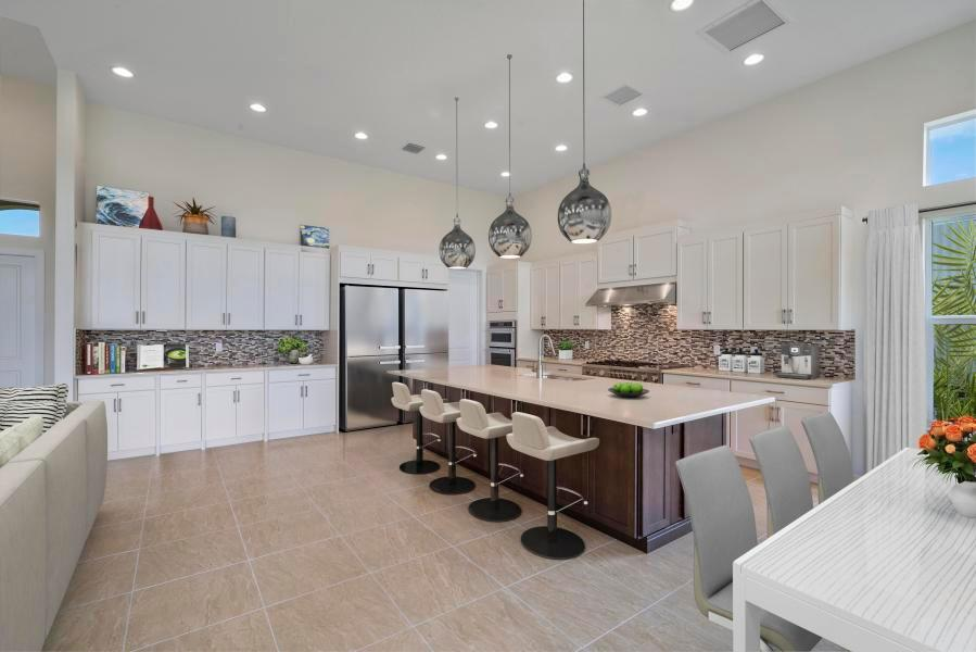 Kitchen featured in the Davenport By Kenco Communities in Palm Beach County, FL