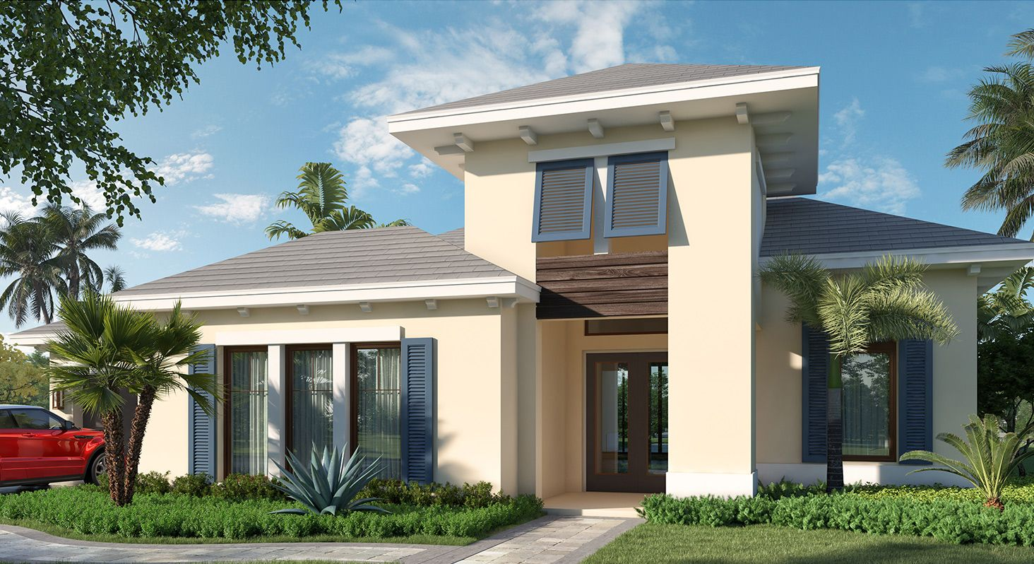 Exterior featured in the Barbados By Kenco Communities at Avenir in Palm Beach County, FL