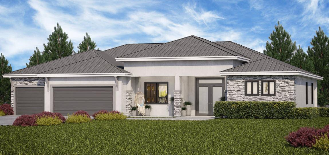 Exterior featured in The Serenity By Walker HomeBuilders in Miami-Dade County, FL