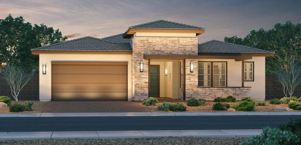 Exterior featured in the Gallant Fox By Keystone Homes in Phoenix-Mesa, AZ