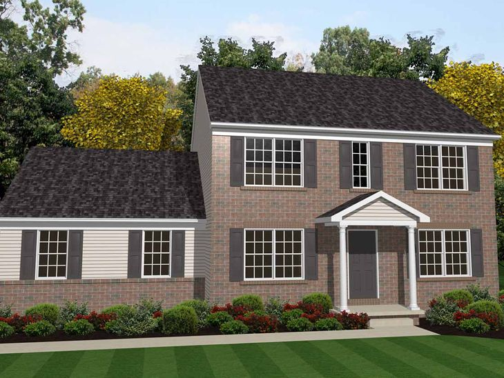 Hamilton Traditional:Hamilton Traditional Elevation