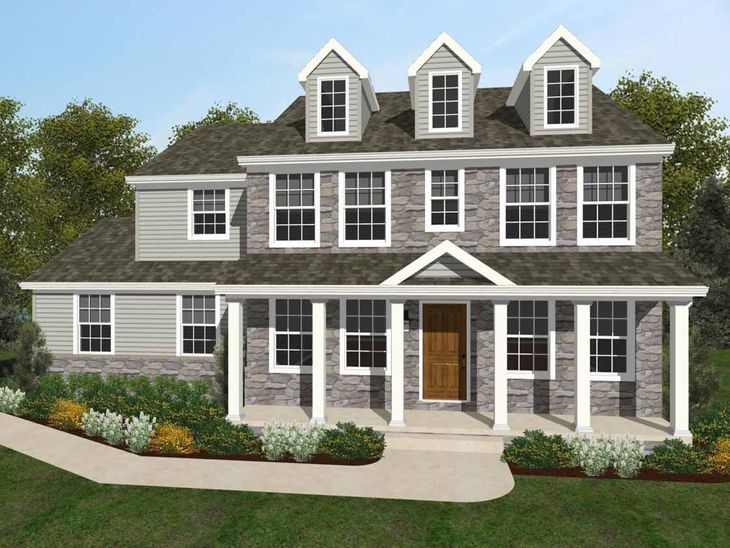 Windsor Traditional:Windsor Traditional Elevation
