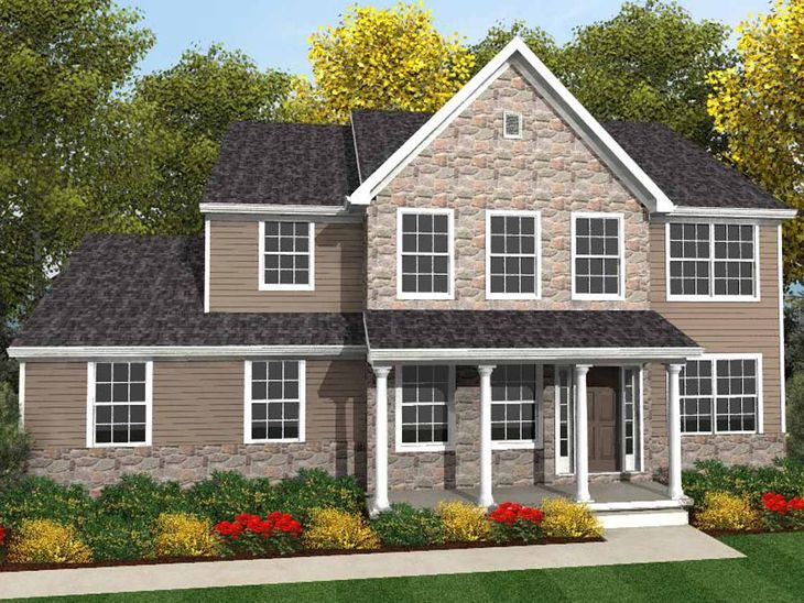 Sullivan Traditional:Sullivan Traditional Elevation