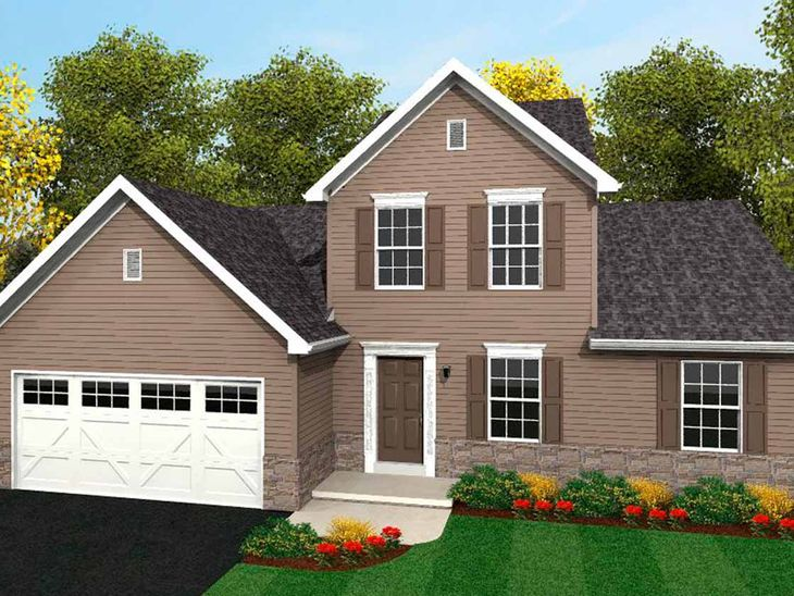 Dawson Traditional:Dawson Traditional Elevation
