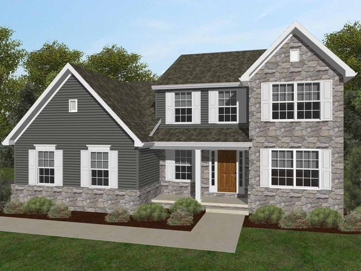 Oakmont Traditional:Oakmont Traditional Elevation