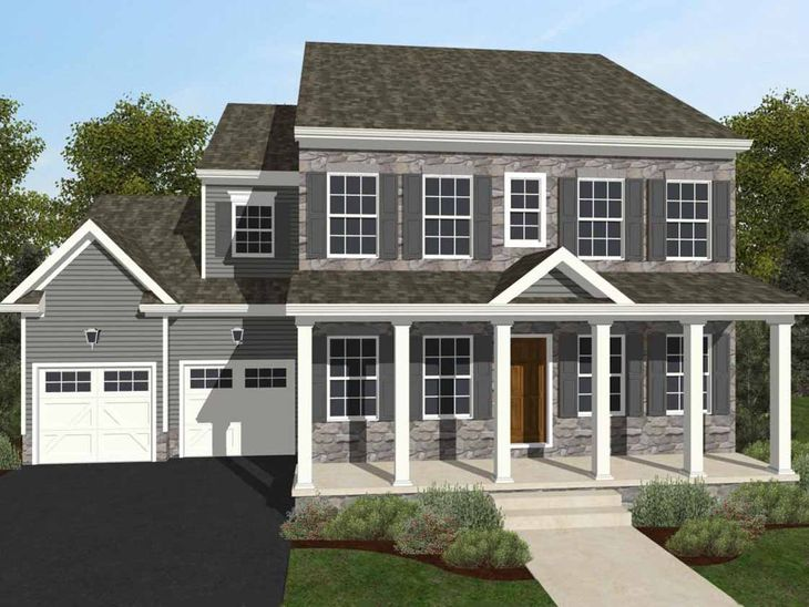Addison Traditional:Addison Traditional Elevation